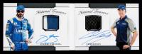 Chad Knaus / Jimmie Johnson 2017 Panini National Treasures Dual Signature Materials #9 #9/25 at PristineAuction.com