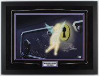 """Margaret Kerry Signed """"Peter Pan"""" 19x25 Custom Framed Photo Display Inscribed """"We're Getting Closer!"""" & """"Tinker Bell"""" (Beckett COA) (See Description) at PristineAuction.com"""