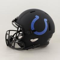 "Darius Leonard Signed Colts Full-Size Eclipse Alternate Speed Helmet Inscribed ""Maniac"" (JSA COA) at PristineAuction.com"