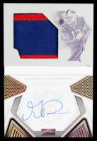 Gabriel Davis 2020 Panini Playbook Rookies Playbook Jersey Autographs Printing Plates Yellow #240 #1/1 at PristineAuction.com