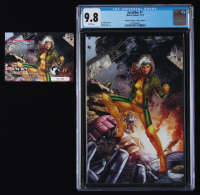 "2019 ""Excalibur"" Issue #1 Jay Anacleto Virgin Variant LE Marvel Comic Book (CGC 9.8) at PristineAuction.com"
