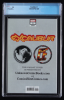 """2019 """"Excalibur"""" Issue #1 Jay Anacleto Virgin Variant LE Marvel Comic Book (CGC 9.8) at PristineAuction.com"""
