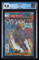"2017 ""Falcon"" Issue #1 Lenticular Homage Variant Marvel Comic Book (CGC 9.8) at PristineAuction.com"