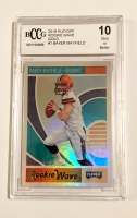 Baker Mayfield 2018 Playoff Rookie Wave Gold #1 RC (BCCG 10) at PristineAuction.com