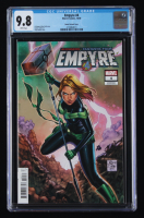 "2020 ""Empyre"" Issue #4 Tony S. Daniel Kree Skrull Variant Marvel Comic Book (CGC 9.8) at PristineAuction.com"
