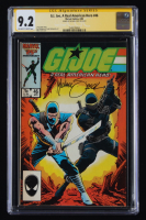 "MIchael Zeck Signed 1986 ""G.I. Joe: A Real American Hero"" Issue #46 Marvel Comic Book (CGC Encapsulated - 9.2) at PristineAuction.com"