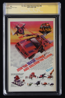 """MIchael Zeck Signed 1986 """"G.I. Joe: A Real American Hero"""" Issue #46 Marvel Comic Book (CGC Encapsulated - 9.2) at PristineAuction.com"""