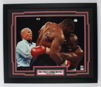 Mike Tyson Signed 22x26 Custom Framed Photo Display (Fiterman Sports Hologram & JSA COA) at PristineAuction.com