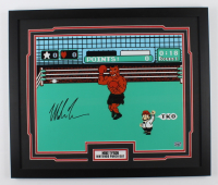 """Mike Tyson Signed """"Punch Out!!"""" 22x26 Custom Framed Photo Display (Fiterman Sports Hologram) at PristineAuction.com"""