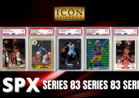 Icon Authentic SPX Series 83 Mystery Box 100+ Cards Per Box at PristineAuction.com