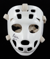 "Grant Fuhr Signed Full-Size Throwback Goalie Mask Inscribed ""HOF 03"" (Schwartz COA) at PristineAuction.com"