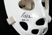 "Grant Fuhr Signed Full-Size Throwback Goalie Mask Inscribed ""HOF 03"" (Schwartz COA) at PristineAuction.com"