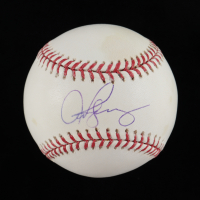 Alex Rodriguez Signed OML Baseball (Schwartz COA) (See Description) at PristineAuction.com