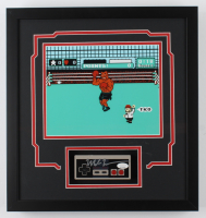 "Mike Tyson Signed ""Punch-Out!!"" 16.5x17.5 Custom Framed Replica Controller Display with (JSA Hologram) at PristineAuction.com"