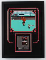 "Mike Tyson Signed ""Punch-Out!!"" 16.5x21.5 Custom Framed Game Cartridge Display with (Fiterman Sports Hologram) at PristineAuction.com"