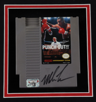 """Mike Tyson Signed """"Punch-Out!!"""" 16.5x21.5 Custom Framed Game Cartridge Display with (Fiterman Sports Hologram) at PristineAuction.com"""