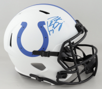 Peyton Manning Signed Colts Full-Size Lunar Eclipse Alternate Speed Helmet (Fanatics Hologram) at PristineAuction.com