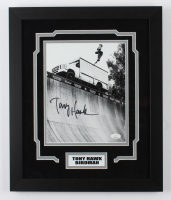 Tony Hawk Signed 15x18 Custom Framed Photo Display (JSA COA) at PristineAuction.com