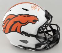 Peyton Manning Signed Broncos Full-Size Lunar Eclipse Alternate Speed Helmet (Fanatics Hologram) at PristineAuction.com