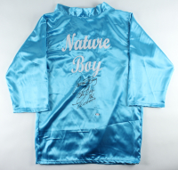 "Ric Flair Signed ""Nature Boy"" Wrestling Robe Inscribed ""16x Wooooo"" (PSA COA) at PristineAuction.com"