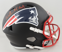 Willie McGinest Signed Patriots Full-Size Matte Black Speed Helmet (Beckett COA) (See Description) at PristineAuction.com