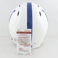 """Peyton Manning Signed Colts Full-Size Authentic On-Field Speed Helmet Inscribed """" SB XLI MVP"""" (JSA COA) at PristineAuction.com"""