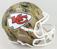 "Tyreek Hill Signed Chiefs Full-Size Camo Alternate Speed Helmet Inscribed ""Cheetah"" (JSA COA) at PristineAuction.com"