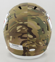 """Tyreek Hill Signed Chiefs Full-Size Camo Alternate Speed Helmet Inscribed """"Cheetah"""" (JSA COA) at PristineAuction.com"""