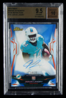 Jarvis Landry 2014 Finest Rookie Autograph Blue Refractors #102 (BGS 9.5) at PristineAuction.com