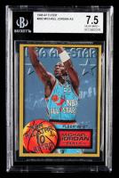 Michael Jordan 1996-97 Fleer #282 All-Star (BGS 7.5) at PristineAuction.com
