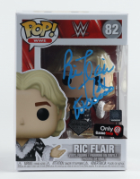 "Ric Flair Signed WWE #82 Funko Pop! Vinyl Figure Inscribed ""16x Wooooo"" (PSA Hologram) (See Description) at PristineAuction.com"