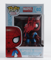 "Stan Lee Signed ""Marvel Universe"" #03 Spider-Man Funko Pop! Vinyl Figure (JSA COA) (See Description) at PristineAuction.com"