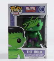 "Stan Lee Signed ""Marvel Universe"" #08 The Hulk Funko Pop! Vinyl Figure (JSA Hologram) (See Description) at PristineAuction.com"