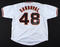 Pablo Sandoval Signed Jersey (PSA COA & MLB Hologram) (See Description) at PristineAuction.com