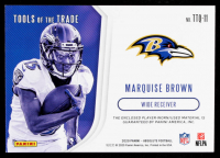 Marquise Brown 2020 Absolute Tools of the Trade Quad Materials #11 #24/60 at PristineAuction.com