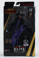 "The Undertaker Signed ""Undertaker"" WWF Elite Collection Action Figure (PSA COA & Fiterman Hologram) (See Description) at PristineAuction.com"