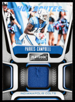 Parris Campbell 2020 Panini Playbook Hot Routes Jerseys Platinum #14 #99/99 at PristineAuction.com