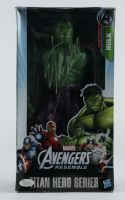 Stan Lee Signed Marvel Titan Hero Series The Hulk Figure (JSA COA) (See Description) at PristineAuction.com