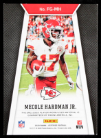 Mecole Hardman Jr. 2020 Certified Fabric of the Game Prime #17 #25/25 at PristineAuction.com