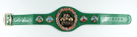 George Foreman & Evander Holyfield Signed WBC High Quality Replica Full-Size Belt (JSA COA & Foreman COA) at PristineAuction.com