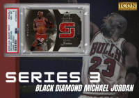 Icon Authentic Black Diamond Michael Jordan Series 3 Mystery Box 100+ Cards Per Box at PristineAuction.com