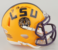 Ja'Marr Chase Signed LSU Tigers Speed Mini Helmet (Beckett COA) at PristineAuction.com