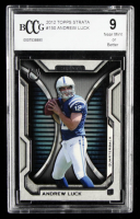 Andrew Luck 2012 Topps Strata #150 RC (BCCG 9) at PristineAuction.com