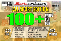 """ALL SPORTS MYSTERY BOX"" 100+ CARDS PER BOX! – SERIES 2 at PristineAuction.com"
