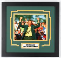 Bernhard Langer Signed 16x17 Custom Framed Photo Display (PSA COA) at PristineAuction.com