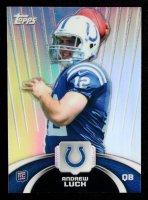 Andrew Luck 2012 Topps Rookie Refractors #TFHMAL at PristineAuction.com
