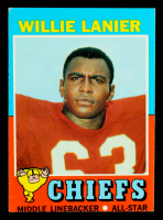 Willie Lanier 1971 Topps #114 RC at PristineAuction.com