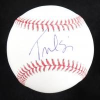 Tulsi Gabbard Signed OML Baseball (PSA COA) at PristineAuction.com