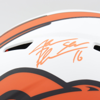 """Jake """"Snake"""" Plummer Signed Broncos Full-Size Lunar Eclipse Alternate Speed Helmet (Beckett Hologram) at PristineAuction.com"""