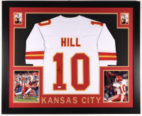 Tyreek Hill Signed 35x43 Custom Framed Jersey (JSA COA) (See Description) at PristineAuction.com
